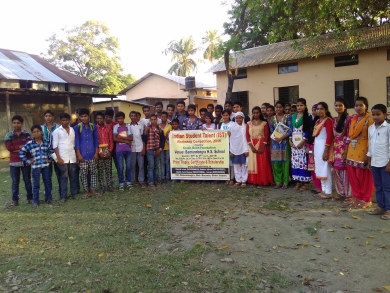 Technical workshop at Bamundongra H.S.School,Assam,Barpeta