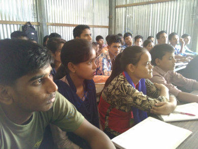 Technical workshop at Mandia jatiya vidyalaya,Assam,India
