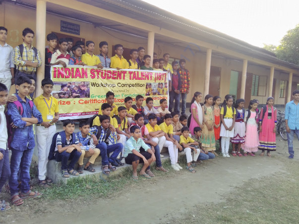 Technicaal Workshop in Mandia Model School ,Assam,India