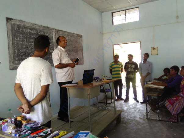 Technical Workshop at Palhazi H.S. School,Assam,India