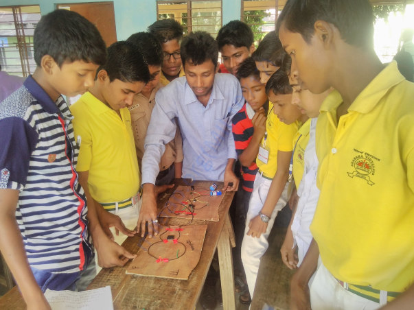 Technical Workshop Mandian H.S.School, Assam,Indai