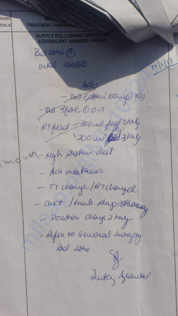 Other Medical Supportings- uploaded by Himachali Blood Donors'