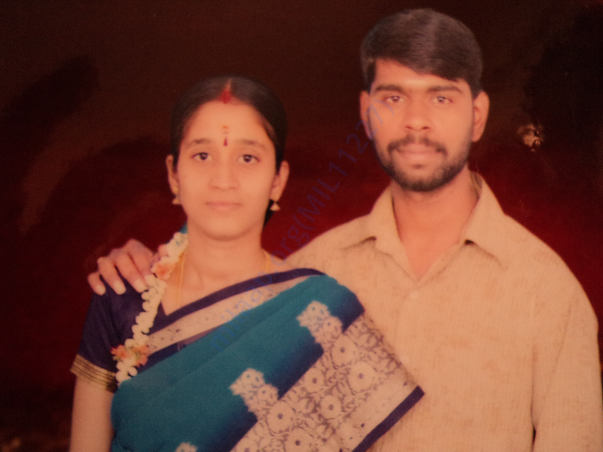 Myself & my wife 8years back