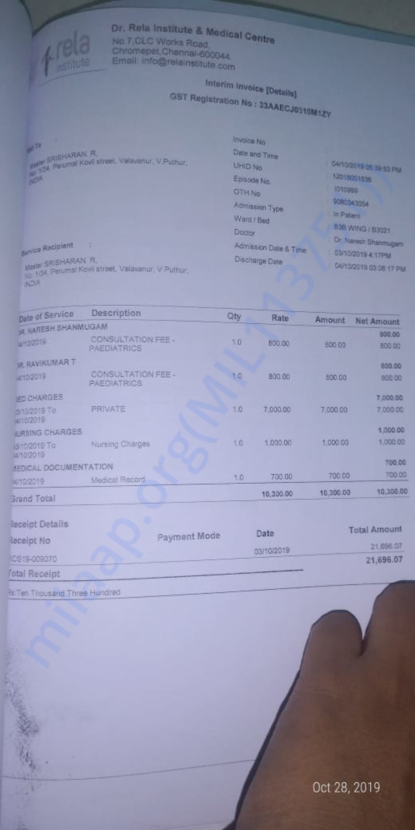 Medical Invoices