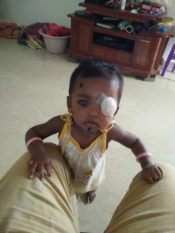 baby Tanmayi at 2 years