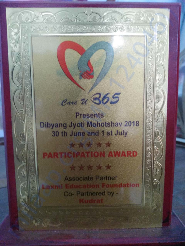 The memento presented to the students for participating in cultural pr