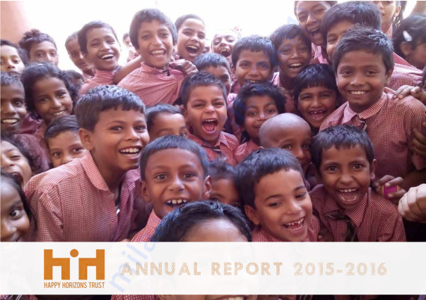 Happy Horizons Trust Annual Report 2015-2016