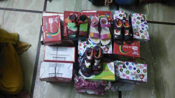 Girls footwear  Maruthi home