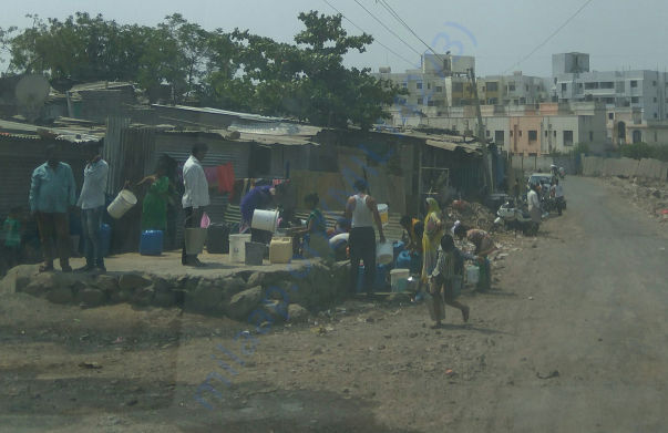 people of wagheshwar slum pannel