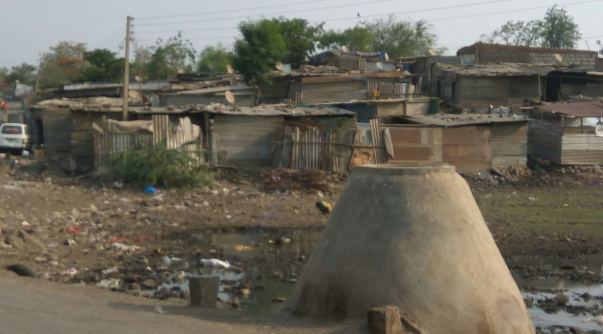 view of wagheshwar slum pannel