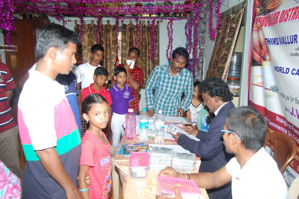 Ilavazhaki organized first District level tournament at her home.