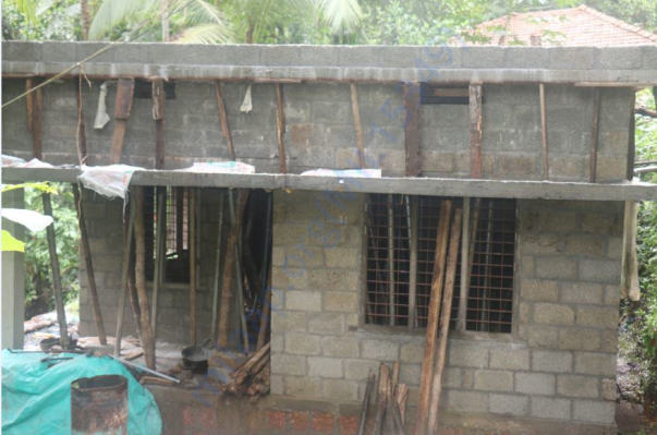 concreting of the main roof over by 26/06/2017