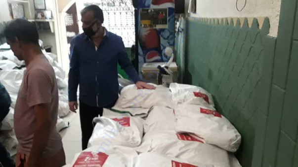 Helpfeed packets for 325 families ready for distribution in Bengaluru