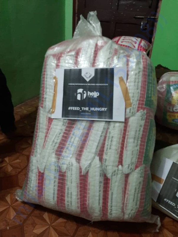 MIWF Helpfeed packet ready for distribution