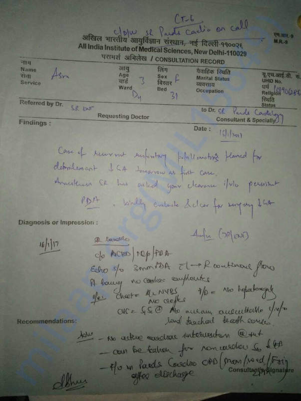 AIIMS' Diagnosis 2