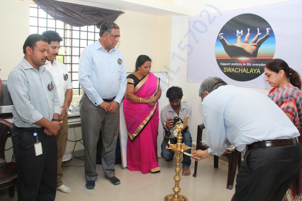 Swachalaya Official Launch at Sri Sharadha school,Tippasandra Village