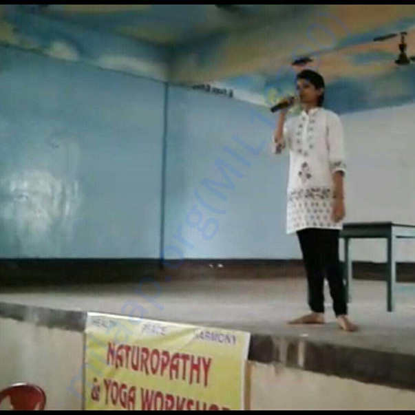 naturopathy and yoga workshop in did in my own school,devsngh school