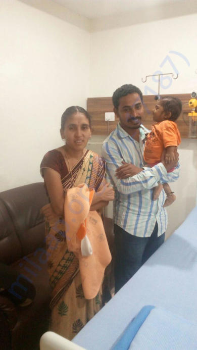 Sriman with his Parents.