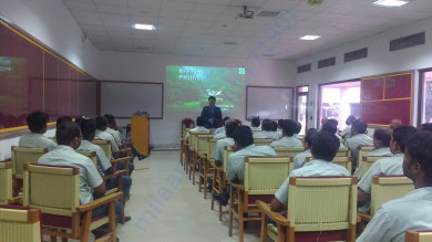 Training at TVS Company, Chennai