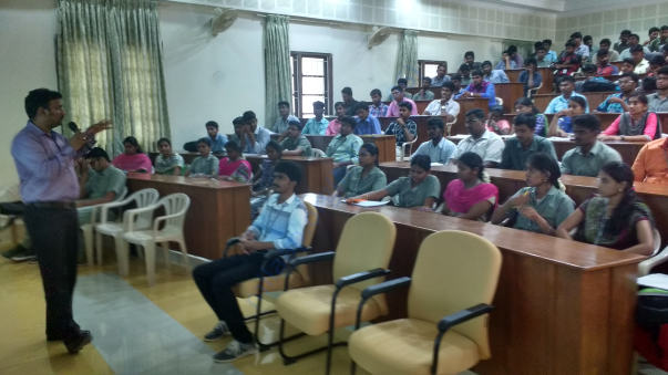 Training Engineering College Students at Pollachi