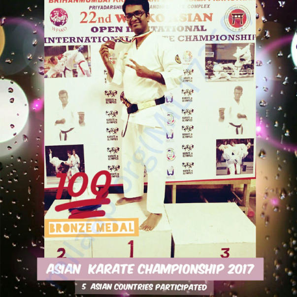 Asian karate Championship 2017 - participated by 5 countries..!