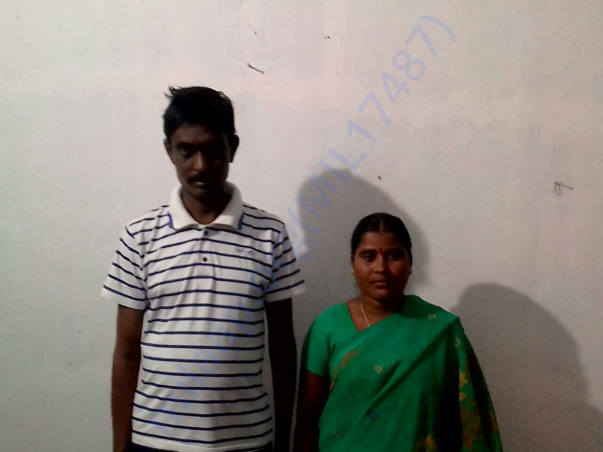 Kumara Swamy and his wife
