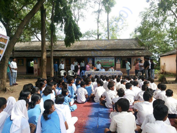 Awareness Camp organized in a local School.