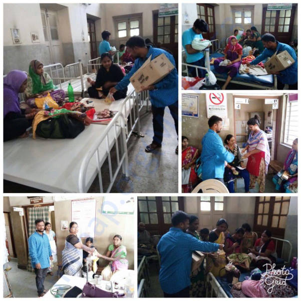 Fruits Donations- Secunderabad Maternity Hospital Ranigunj