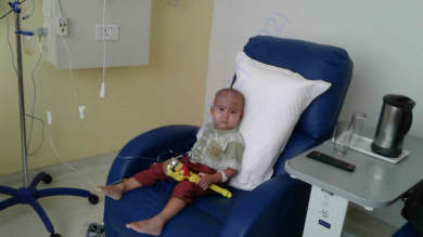 Devangshu going thru Chemo sessions
