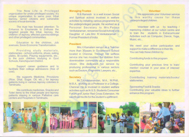 The New Life Trust Brochure 2