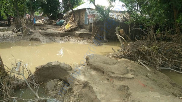 Flood Condition inside the villages