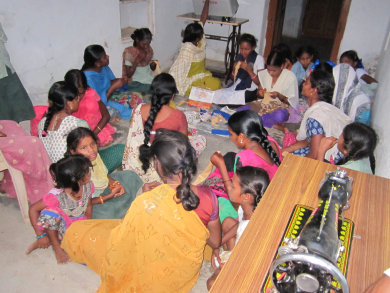 Free Tailoring Classes For Village Girls
