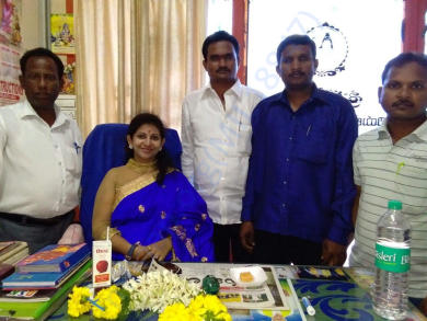 SOUTH INDIA NGO'sTRUST President ,S.YAMINI mam