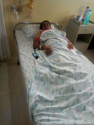 Patient(Pushpa) In Hospital