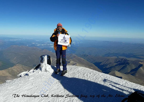 Mt. Elbrus (5642 m) highest point of Europe.