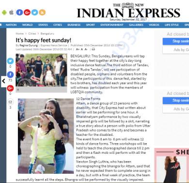Happy Feet by Indian Express
