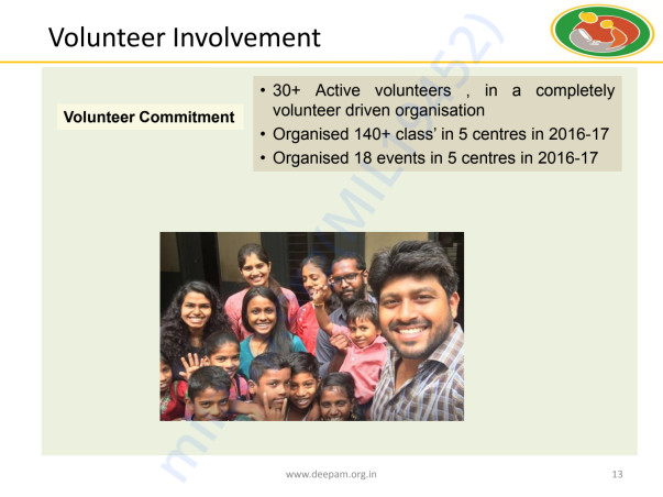 Deepam Annual Report 2016-17