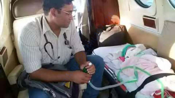 Air Ambulance to Delhi Sir Gangaraam Hospital,with Doctor