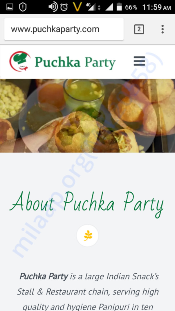 Our official website www.puchkaparty.com