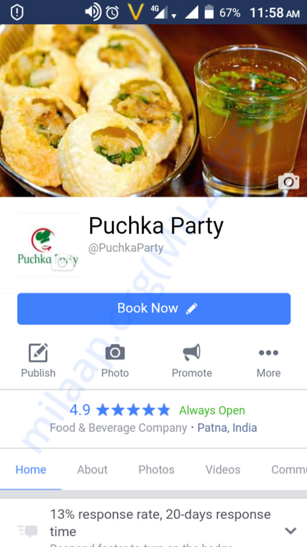 Official fb page https://m.facebook.com/PuchkaParty 2500+ likes