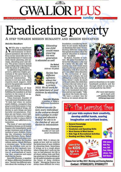 Eradicating Poverty-Times OF India