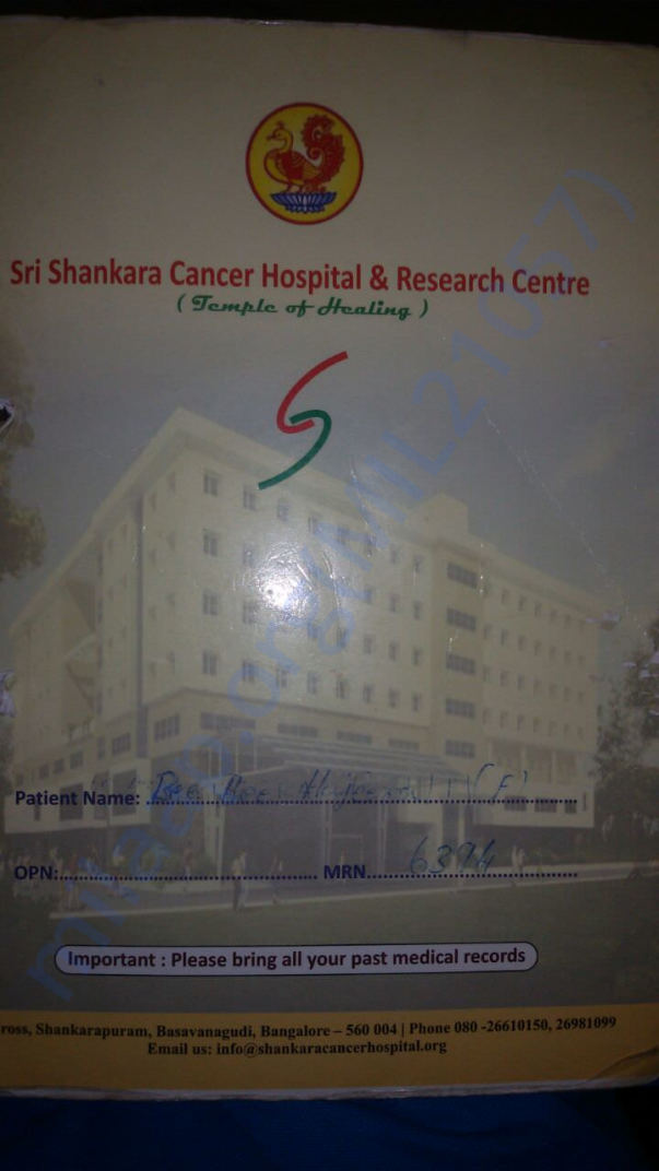 Sri Shankara Cancer Hospital and Research Centre