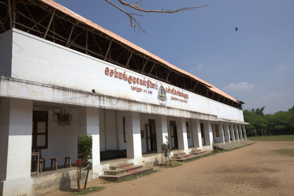A view of the classrooms