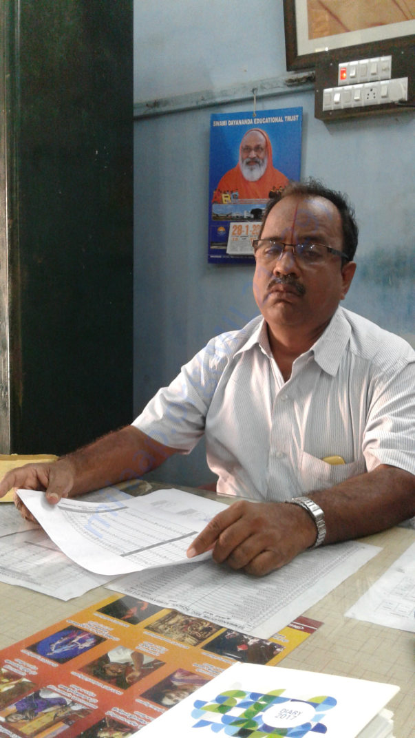 C Raman - Principal of the school for over 20 years