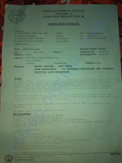 Deepak's Medical Papers (1 of 5)