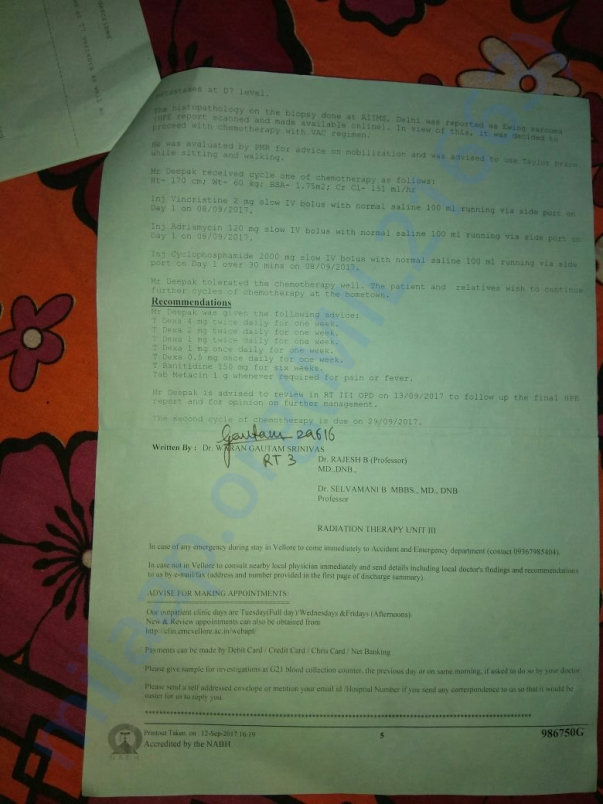 Deepak's Medical Papers (5 of 5)