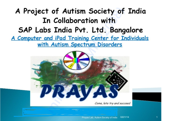 Help to set up digital learning center for Disable kids