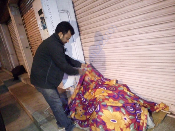 Distribution of blanket