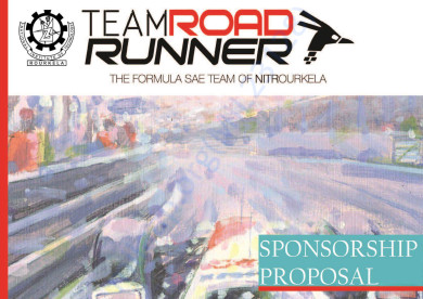 Sponsorship Brochure - Team Roadrunner