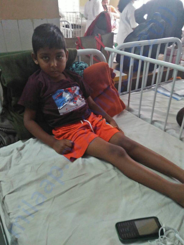 Nandhan in hospital